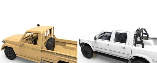 Meng Model Pick Up Set
