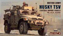 Meng Model British Army Husky TSV makett