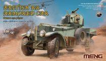 Meng Model British Rolls-Royce armoured car makett