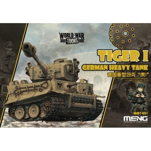 Meng Model German Heavy Tank Tiger I makett