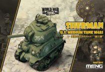 Meng Model U.S.Medium Tank M4A1 Sherman makett