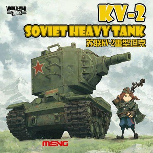 Meng Model Soviet KV-2 Heavy Tank makett
