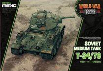 Meng Model Soviet T-34/76 makett