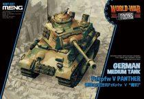 Meng Model German Medium Tank PzKpfw V Panther makett