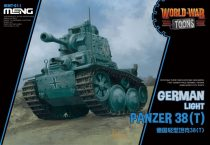 Meng Model German Light Panzer 38(t) Cartoon makett