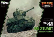 Meng Model U.S. Light Tank M5 Stuart Cartoon makett