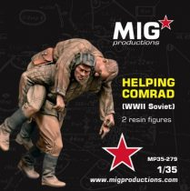 MIG Productions HELPING COMRAD WWII SOVIET