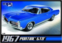 MPC 1967 Pontiac GTO makett