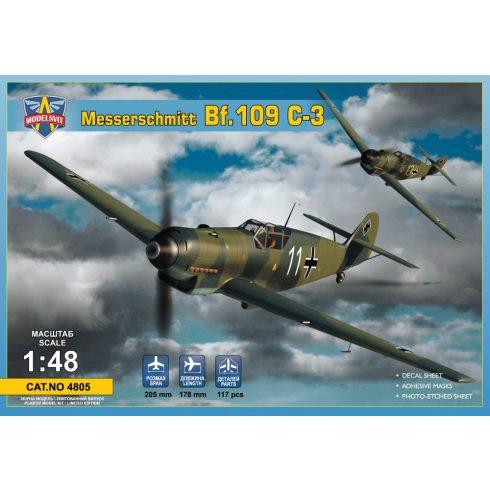 Modelsvit Messerschmitt Bf-109C-3 makett