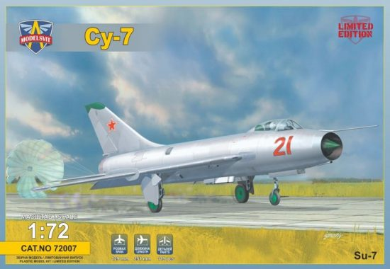 Modelsvit Sukhoi Su-7 Soviet fighter makett
