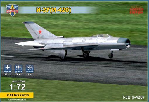 Modelsvit Mikoyan I-3U(I-420) Soviet interceptor makett