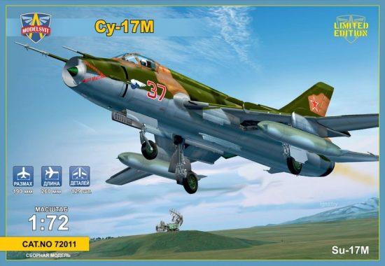 Modelsvit Sukhoi SU-17M Soviet fighter-bomber makett