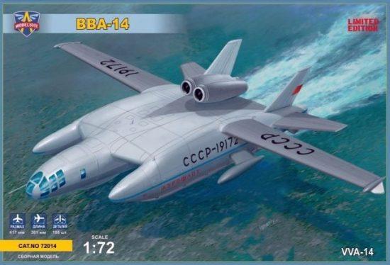 Modelsvit VVA-14 Soviet experimantal hydroplane makett