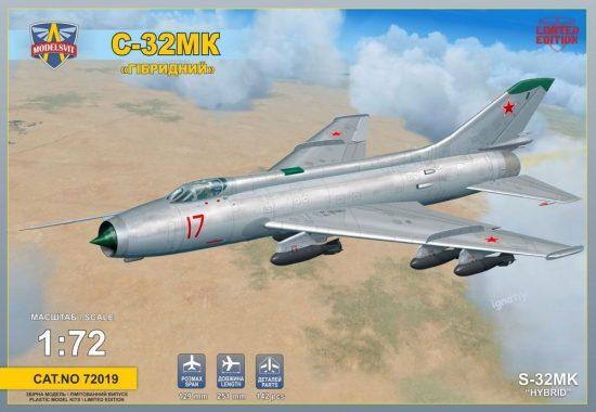 Modelsvit Sukhoi S-32MK Soviet bomber makett