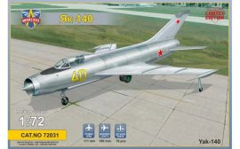 Modelsvit Ykovlev Yak-140 Soviet prototype fighter