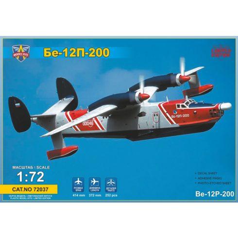 Modelsvit Beriev Be-12P-200 flying boat makett