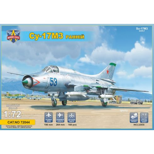 Modelsvit Sukhoi Su-17M3 early version makett