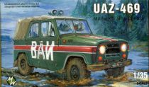 Military Wheels UAZ-469 Military milicia makett