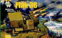 Military Wheels Flak 38 makett