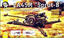 Military Wheels 2A45M ''Sprut-B'' anti tunk gun makett