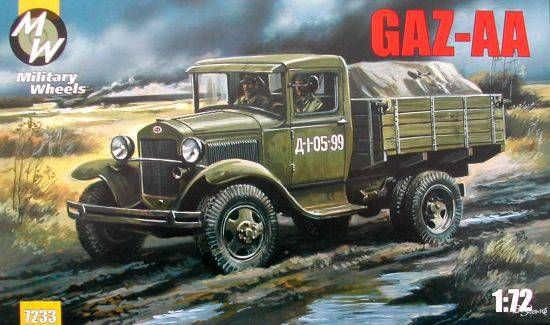 Military Wheels GAZ-AA makett