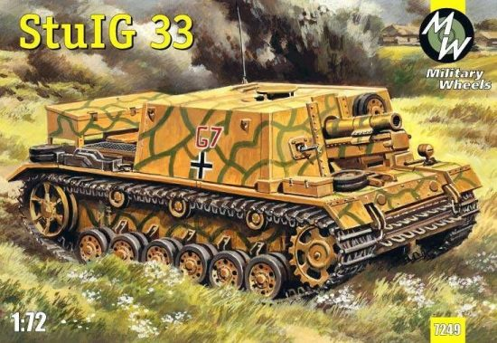 Military Wheels StulG 33 German self-propelled gun