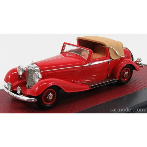 MATRIX SCALE MODELS MERCEDES BENZ 500K BY CORSICA DHC CABRIOLET OPEN 1935