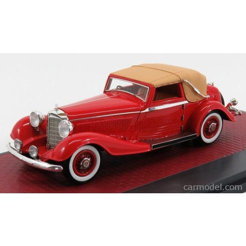 MATRIX SCALE MODELS MERCEDES BENZ 500K BY CORSICA DHC CABRIOLET CLOSED 1935