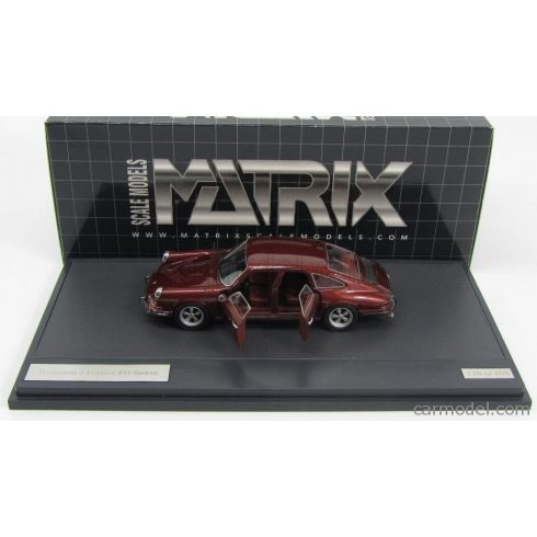 MATRIX SCALE MODELS PORSCHE 911 TROUTMAN & BARNES 4-DOORS 1972 WITH OPEN DOORS
