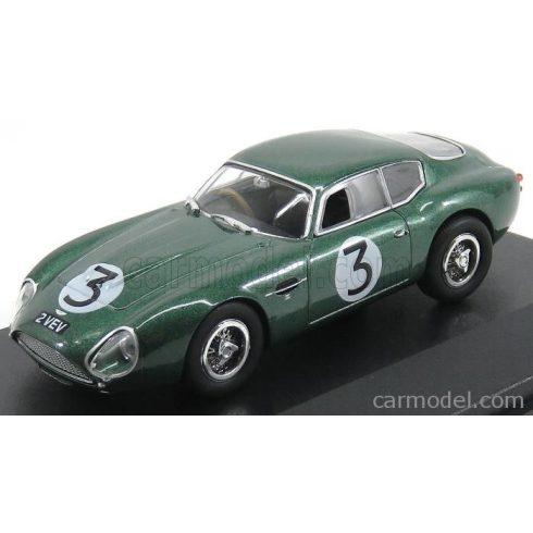 OXFORD MODELS ASTON MARTIN DB4 GT COUPE ZAGATO N 3 GOODWOOD 1961 J.CLARK