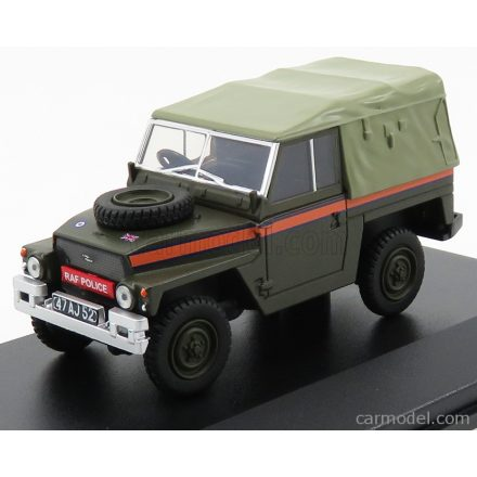 OXFORD MODELS LAND ROVER LAND 88 LIGHTWEIGHT SERIES I MILITARY POLICE R.A.F ROYAL AIR FORCE 1973