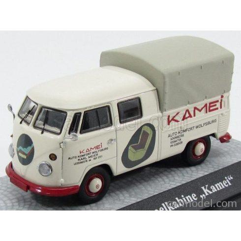 Premium ClassiXXs VOLKSWAGEN T1 TELONATO DOPPELKABINE KAMEI AUTO-KOMFORT WOLFSBURG 1962