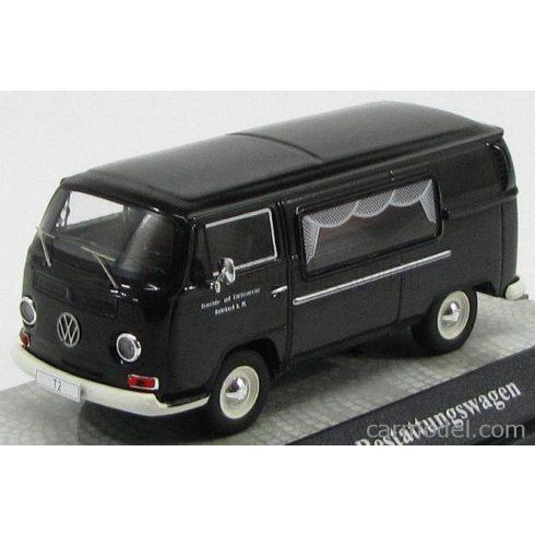 Premium ClassiXXs VOLKSWAGEN T2a VAN BESTATTUNGSWAGEN 1967 CARRO FUNEBRE CON BARA - HEARSE - FUNERAL CAR WITH COFFIN