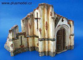 Plus Model Church ruins