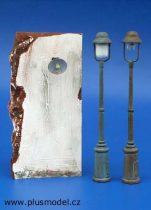 Plus Model Street lamps - Set No. II