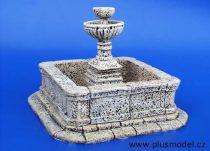 Plus Model Town public fountain