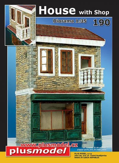 Plus Model House with shop