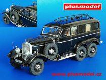 Plus Model Mercedes G4 Radio Car makett