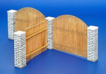 Plus Model Fence with poles