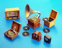 Plus Model Gramophones and radios