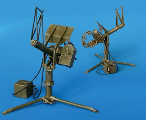 Plus Model U.S. Machine gun cal .50 Anti-aircraft
