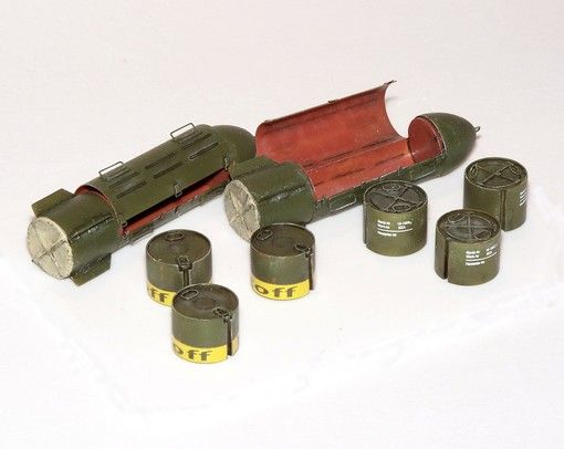 Plus Model German supply bombs