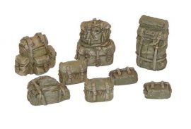 Plus Model U.S. rucksacks WW II