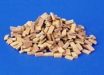 Plus Model Bricks and bricks strewing