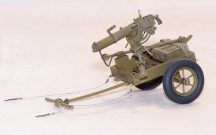 Plus Model U.S. handcart M3A1 with Browning 0,3