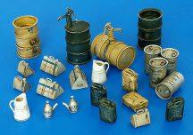 Plus Model Fuel stock equipment Germany WW II