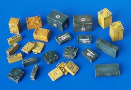 Plus Model Ammunition and medical Aid containers - Germany