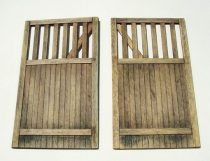 Plus Model Wooden gate - straight