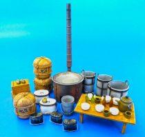 Plus Model apanese military field kitchen equipment