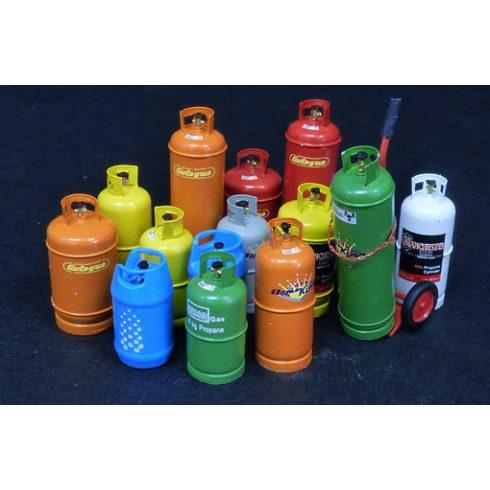 Plus Model Gas bottles - Big
